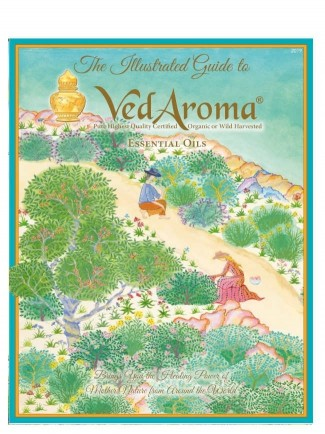 New VedAroma Essential Oils Illustrated Guide 2019