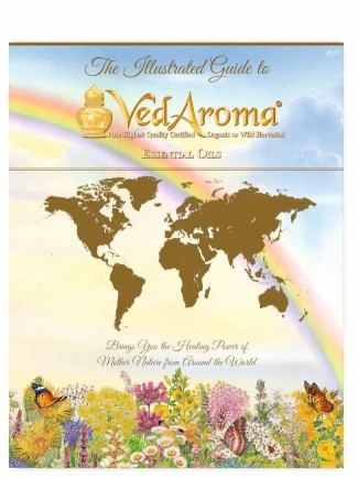 VedAroma Essential Oils Illustrated Guide 2019