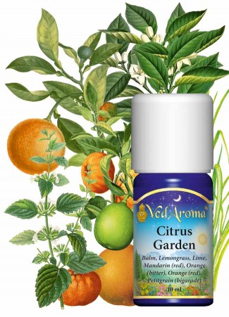 Citrus Garden - Blend of Essential Oils
