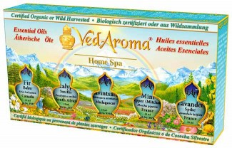 Home Spa—Boxed Set of Essential Oils
