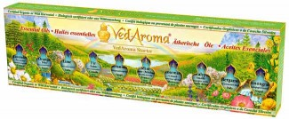 VedAroma Starter Kit—Boxed Set of Essential Oils