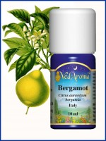 Bergamot Essential Oil (10 ml)