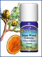 Siam Wood (Fokienia) Essential Oil (10 ml)