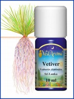 Vetiver Essential Oil (10 ml)