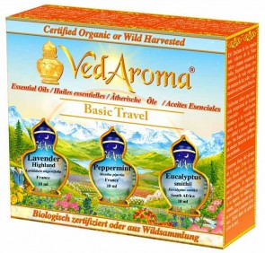 Basic Travel Kit—Boxed Set of Essential Oils