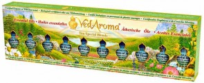 Boxed Set of Ten Special Blends of Essential Oils