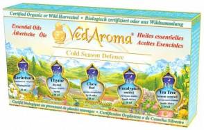 Cold Season Defense—Boxed Set of Essential Oils