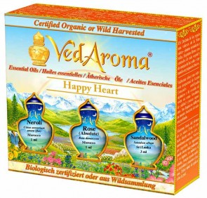 Happy Heart—Boxed Set of Essential Oils
