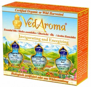 Invigorating and Energizing—Boxed Set of Essential Oils