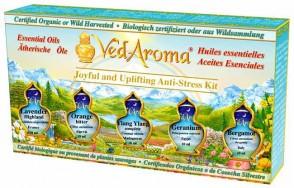 Joyful and Uplifting Anti-Stress Kit—Boxed Set of Essential Oils