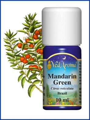 Mandarin Green Brazil Essential Oil (10 ml)